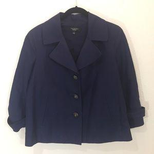 Talbot's Size 8 Navy Blazer Jacket